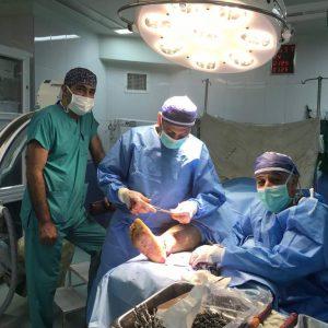 روش جراحی تعويض مفصل زانو
